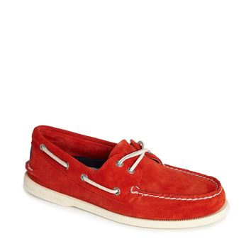 Sperry Topsider Suede Boat Shoes