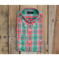 Southern Marsh Hudson Plaid Dress Shirt
