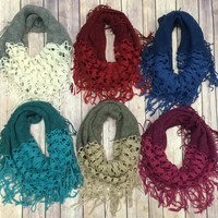 Cozy Valley Infiniti Scarf: Multiple Colors