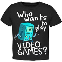 Adventure Time - Video Games Juvy T-Shirt