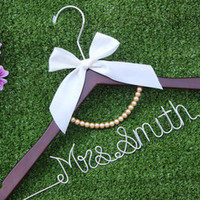 Brides Hanger, Personalized flower hanger, personalized custom Bridal, Wedding Hanger, Personalized Bridal Gift.-in Event & Party Supplies from Home & Garden on Aliexpress.com | Alibaba Group