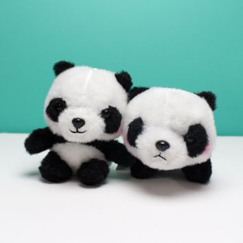 Panda Plush Ball Chain