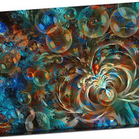 Abstract Art 742353 by Natureworks Mirror Wrapped Canvas