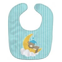 Baby Boy Bear Sleeping Baby Bib BB8616BIB