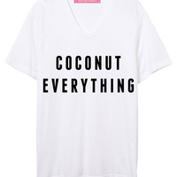 Coconut Everything Sunset VNeck