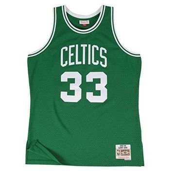 Larry Bird Boston Celtics Mitchell & Ness Nba Throwback Hwc Jersey Green