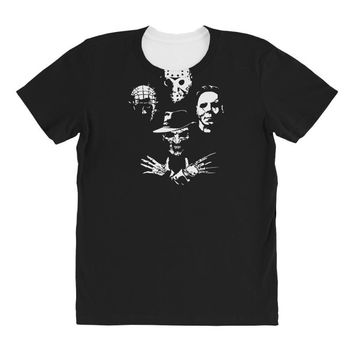 horror icons All Over Women's T-shirt