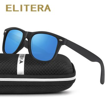 Classic Polarized Sunglasses For Men & Women with case