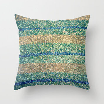 Glitter is My Favorite Color.  Throw Pillow by RDelean | Society6