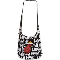 Miami Heat Robin Ruth Round Shoulder Bag - Black