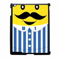 Bananas iPhone Banana Mustache iPad 3 Case