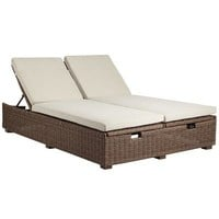 Echo Beach Double Chaise - Latte$699.95
