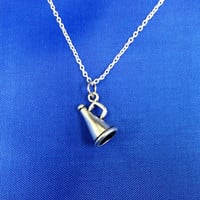 Cheer Megaphone Necklace