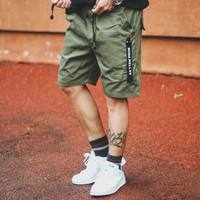 Men's Fashion Simple Design Training Shorts Pants [8598684355]
