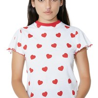 Red Hearts Tee