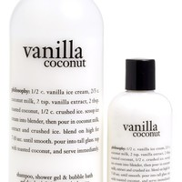 philosophy 'vanilla coconut' shampoo, shower gel & bubble bath duo ($45 Value)