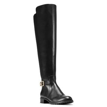 Bryce Stretch-Back Leather Boot | Michael Kors