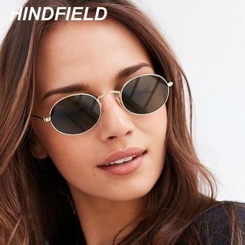 Newest Round Steampunk Sunglasses Women Vintage Oval Sun Glasses Superstar Small Alloy Frame Circle Sunglass Female Zonnebril