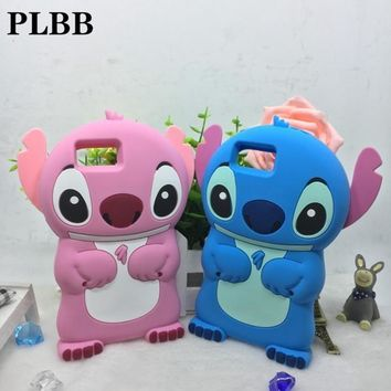 PLBB 3D cartoon stitch silicone case for DOOGEE X5 Case 2016 New cover For DOOGEE X5 PRO Mobile Phone shell soft fundas cover