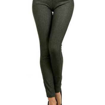 Fashion Jeggings - More Colors Available