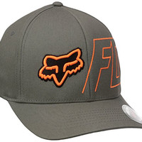 Fox Men's Ramjet Flexfit Hat, Graphite, Small/Medium