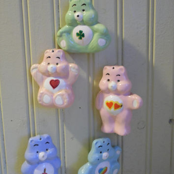 FREE SHIPPING - Care Bears/Vintage Care Bears/1980's Toys/Vintage Wind Chimes