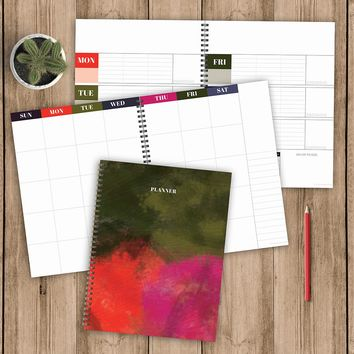 Bold Open Dated Planner - BOLD MOVES COLLECTION