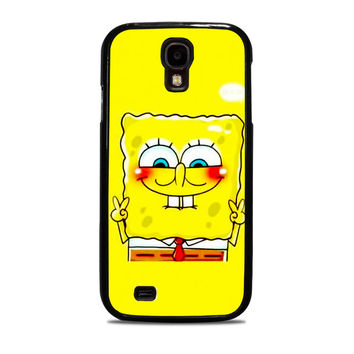 spongebob and patrick best friend 1 cartoon couple Samsung Galaxy S4 Case