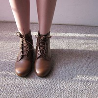 Deery Ankle boots by goldenponies on Etsy