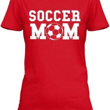 PEAPON Proud Soccer Mom T-Shirt