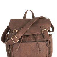ModCloth Scholastic Visualize Victory Backpack in Brown