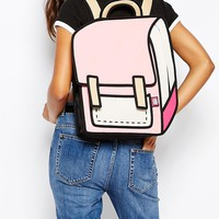 JumpFromPaper Pink Backpack at asos.com