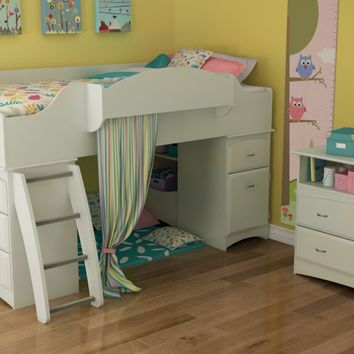 You should see this Roslyn Twin Loft Bed in Pure White on Daily Sales!