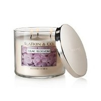 Bath and Body Works Slatkin & Co Lilac Blossom Scented Candle - 14.5oz Filled Candle