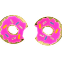 XL Donut Earrings