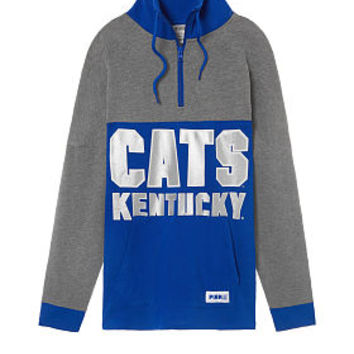 University Of Kentucky Half-Zip Tunic - PINK - Victoria's Secret