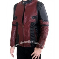 Deadpool Ryan Reynolds Leather Jacket