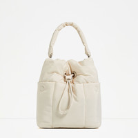 QUILTED MAXI BUCKET BAG - NEW IN-WOMAN | ZARA United Kingdom