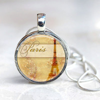 MAGNETIC Toppers Button Necklace  PARIS  by jessejanes on Etsy