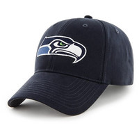 NFL Seattle Seahawks Basic MVP Adjustable Hat, Toddler, Light Navy