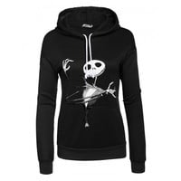 Long Sleeve Print Solid Hooded Casual Pullover Hoodie