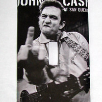Light Switch Cover - Light Switch Plate Johnny Cash