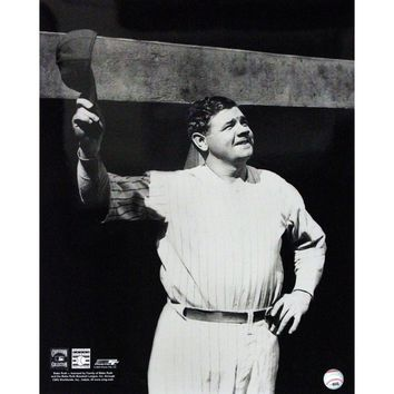 Babe Ruth Tip Cap at Dugout 16x20 (PF)