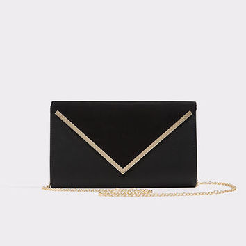 Varina Black Suede Women's Handbags | ALDO US