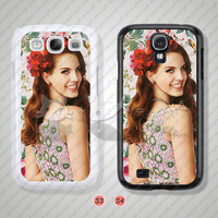 Lana Del Rey, Samsung Galaxy S3 case, Samsung Galaxy S4 case, The super star, Phone cases, Phone Covers - S0480