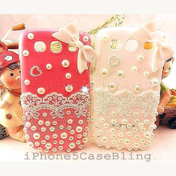 Samsung galaxy s3 case, Samsung galaxy s3 phone case, Samsung galaxy s3, Samsung i9300 Case, cute samsung galaxy s3 case lace
