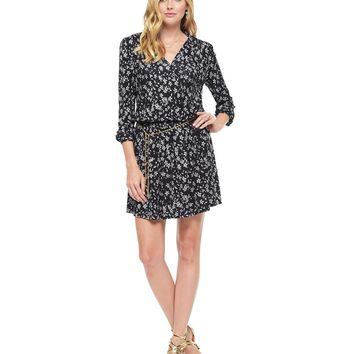 Wallis Floral Wallis Floral Matte Jersey Dress by Juicy Couture,