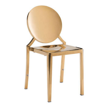 Blythe Dining Chair | Gold