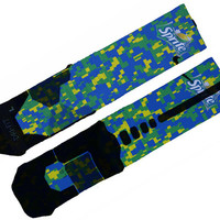 Sprite Custom Nike Elite Socks