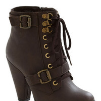 All-Ladies Road Trip Bootie | Mod Retro Vintage Boots | ModCloth.com